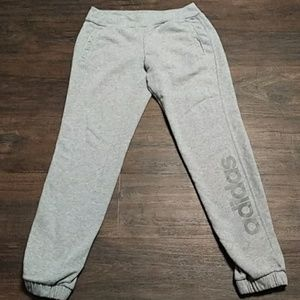Adidas Womens Cuffed Joggers Small